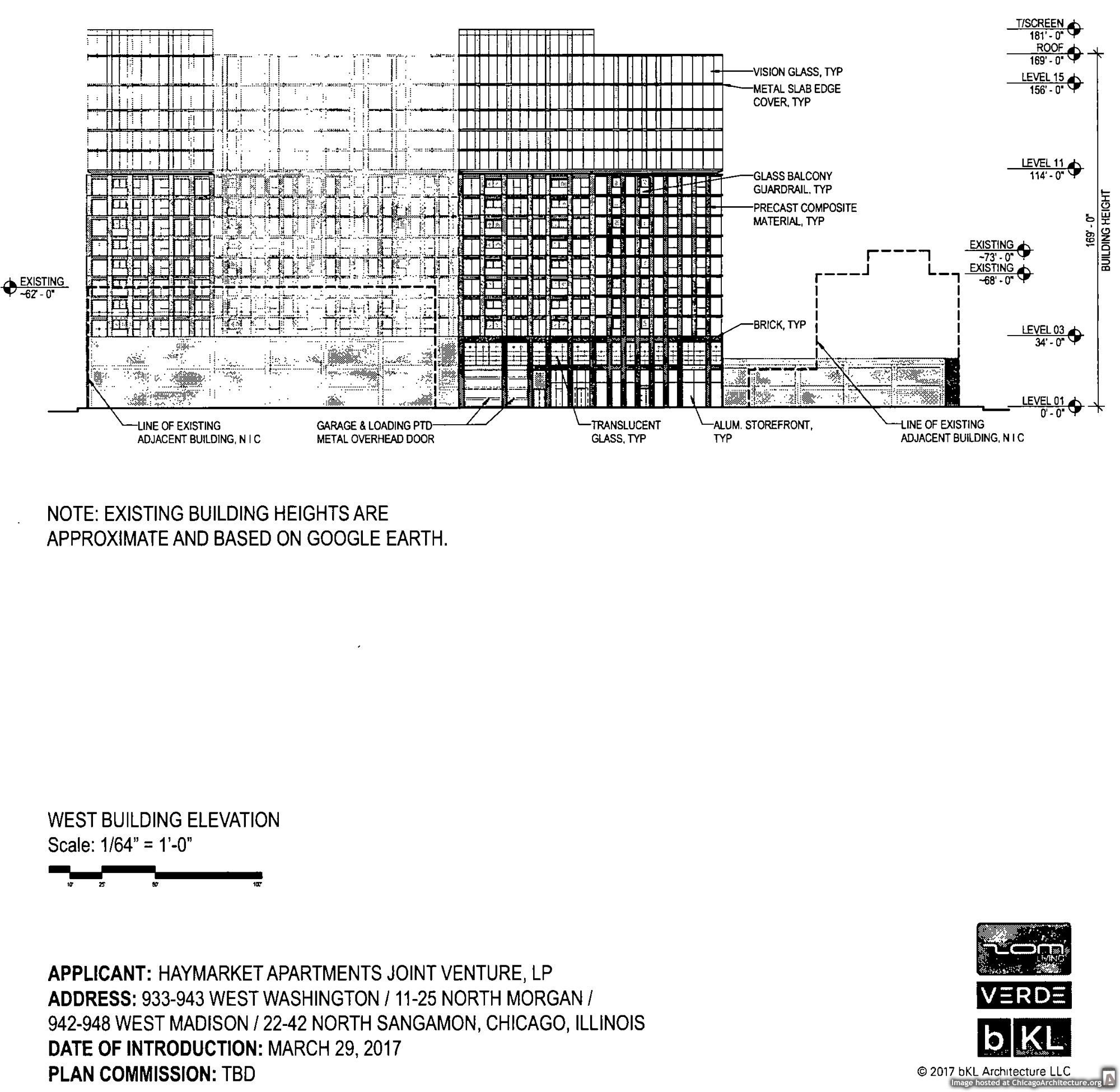 Diagram of 935 West Washington