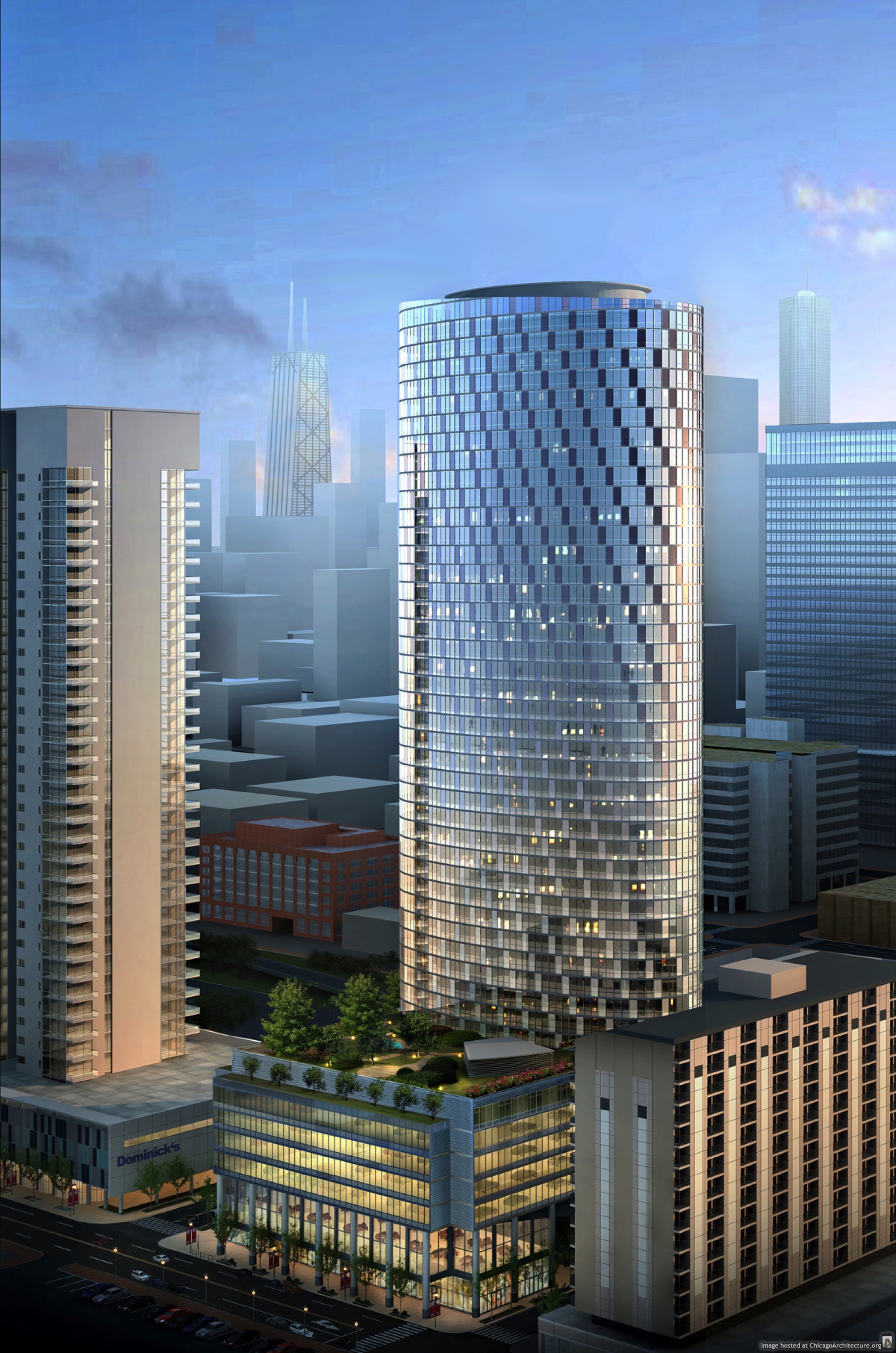 Rendering of 727 West Madison (Courtesy of Fifield)