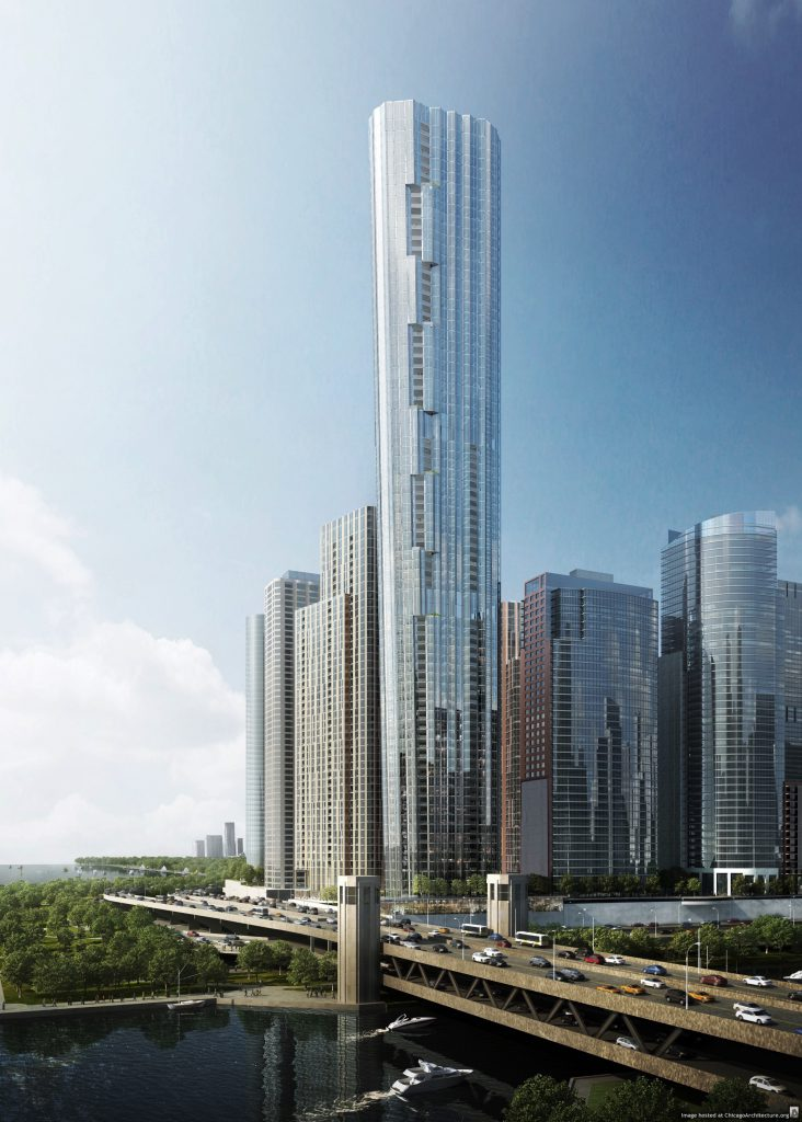 Rendering of Tower I (Courtesy of bKL Architecture)