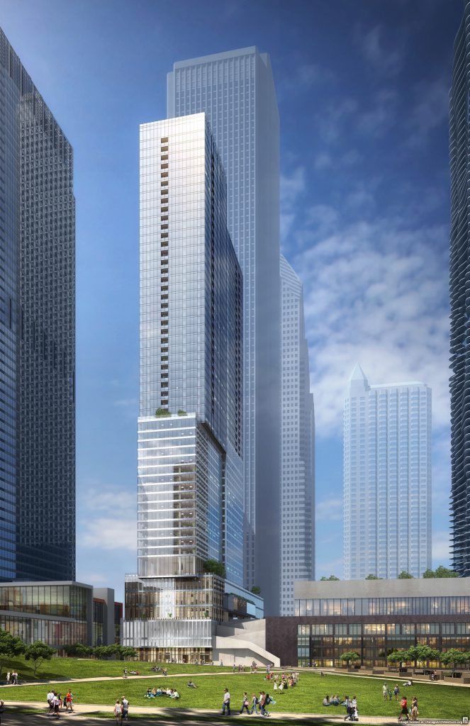 Rendering of Tower O (Courtesy of bKL Architecture)