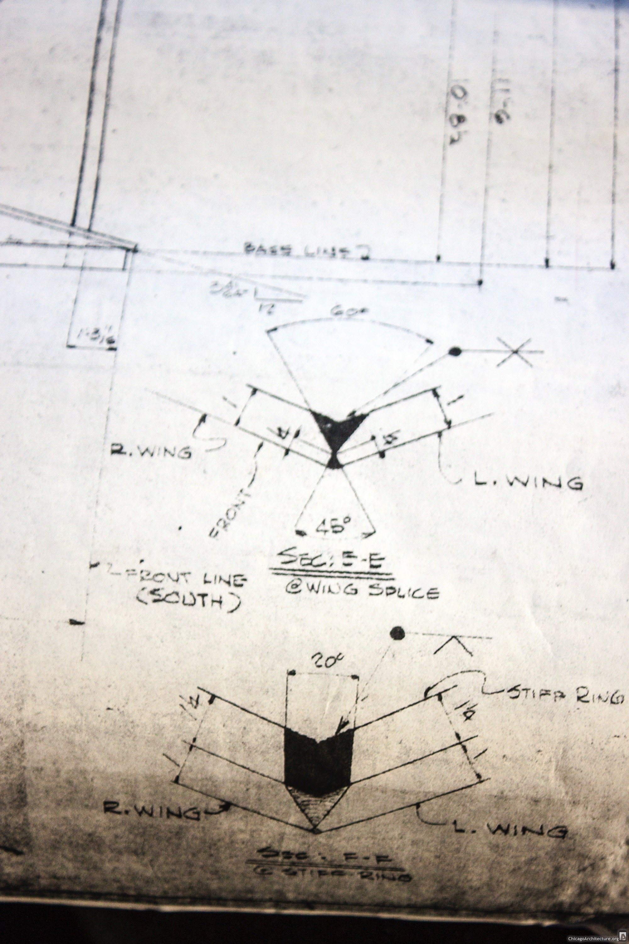 Blueprints of the untitled Picasso