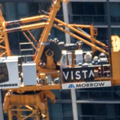 Vista Tower Comes Into View