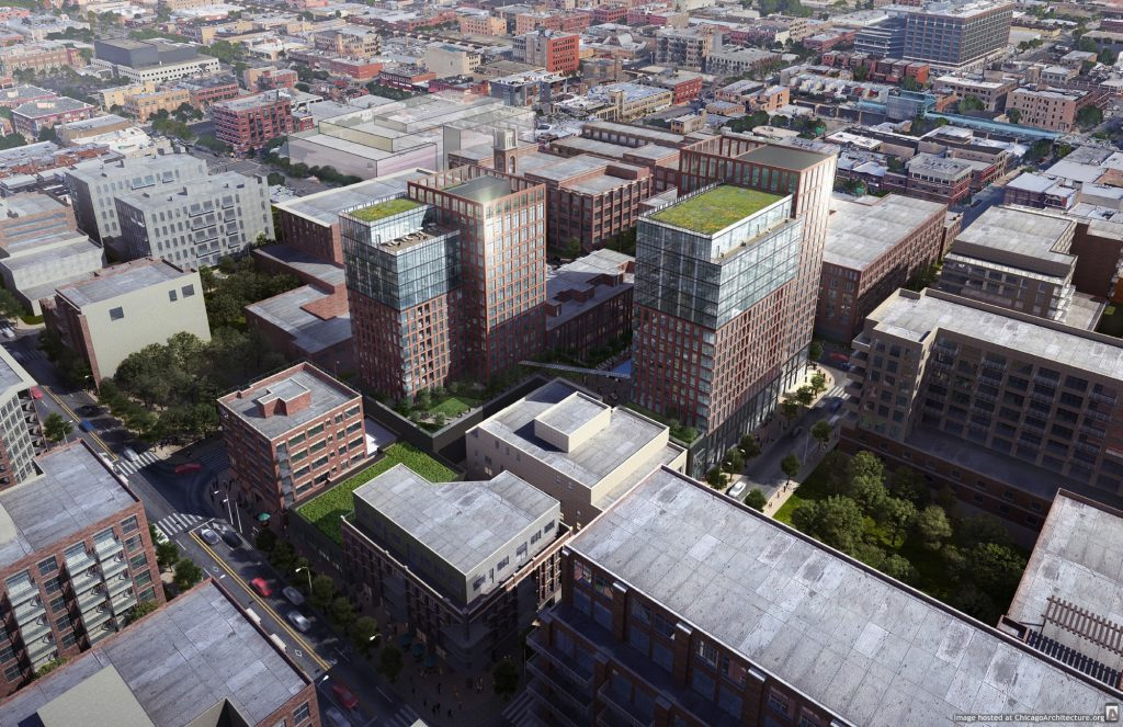 Rendering of Union West (Courtesy off bKL Architecture)