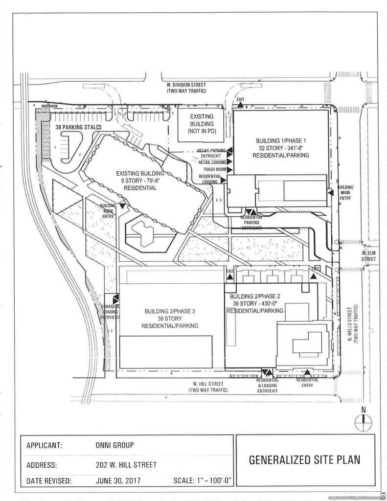 Diagram of Old Town Park