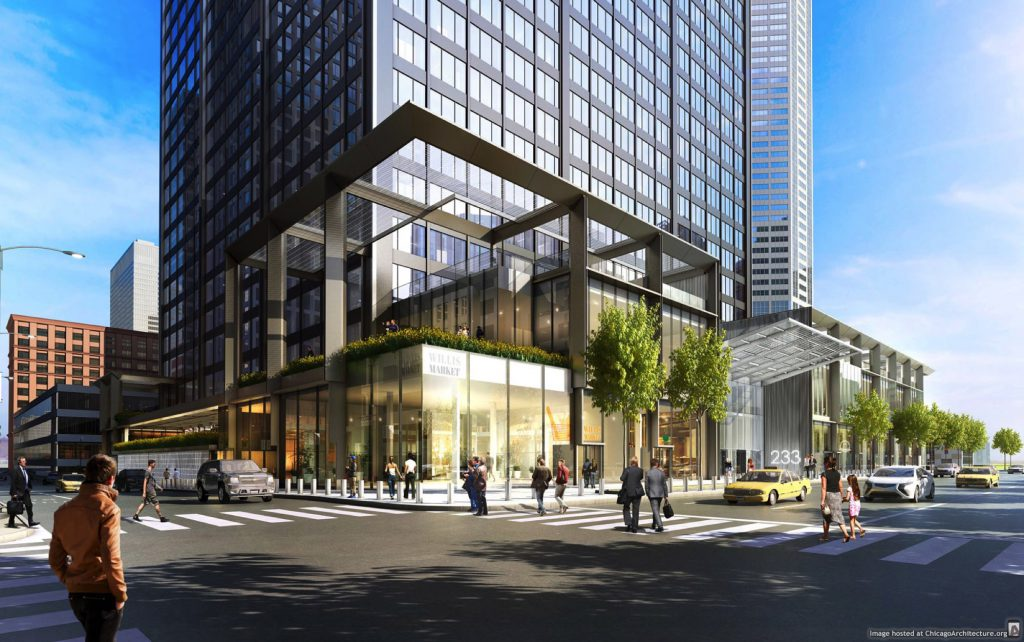 Willis Tower renovation rendering (Blackstone)