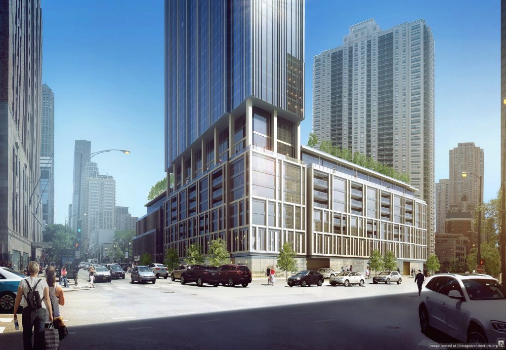 Rendering of One Chicago Square