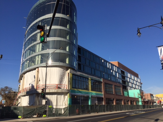 Hotel Zachary under construction (Courtesy of Wrigleyville Spy Greg)