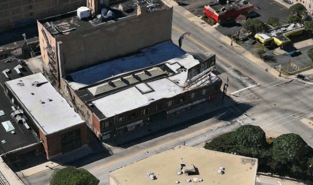Woodruff Arcade Building (via Apple Maps)