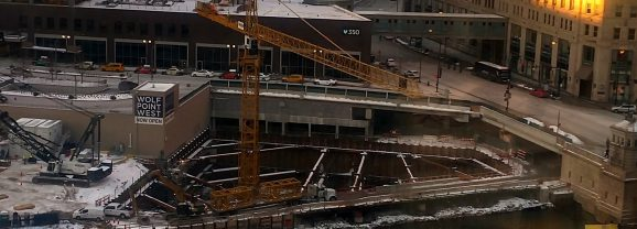 A Crane Hatches at Wolf Point East