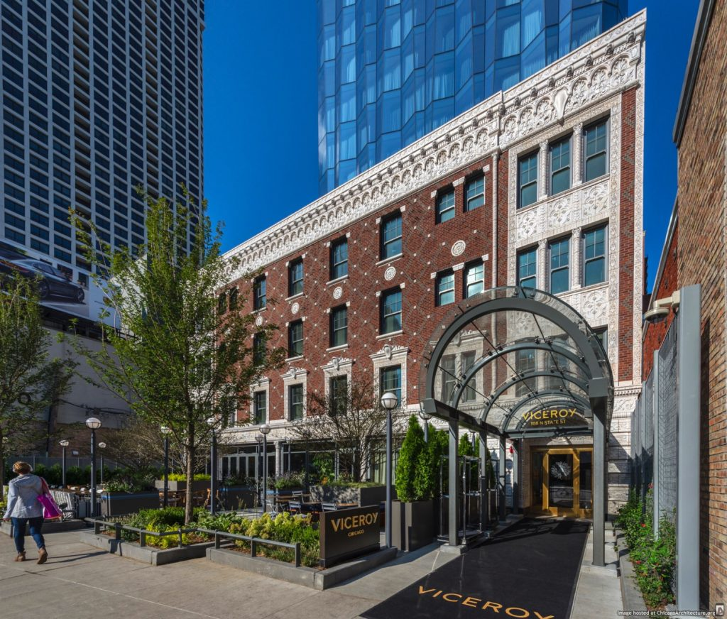 The Viceroy Chicago (courtesy of Goettsch Partners/© James Steinkamp Photography)