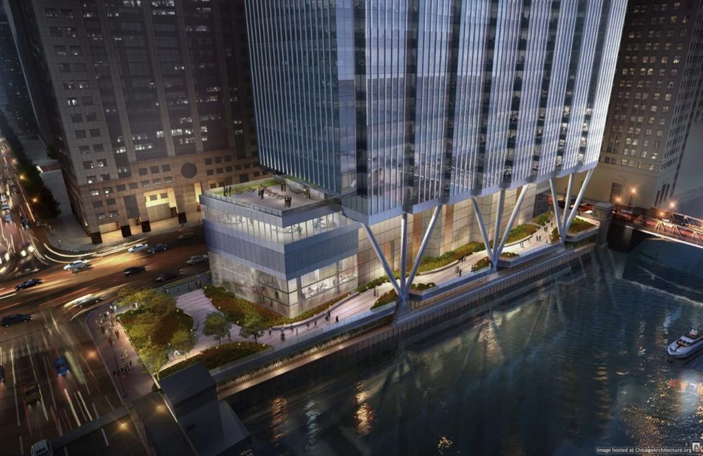 Rendering of 110 North Wacker