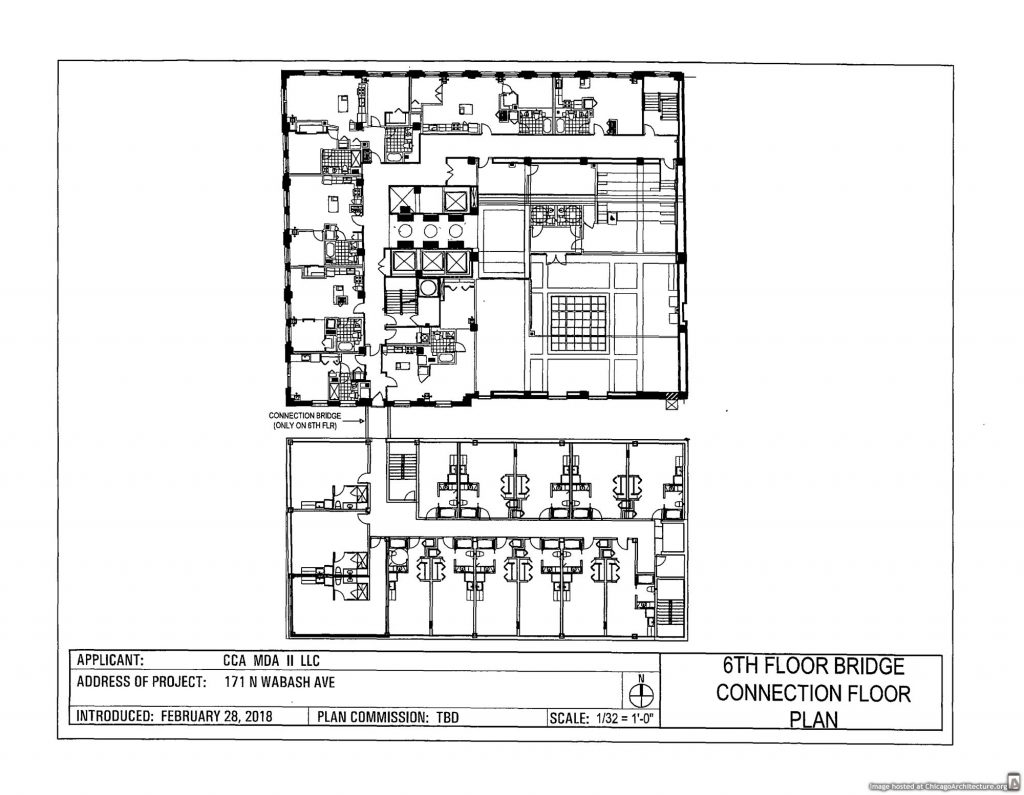 Diagram of 171 North Wabash
