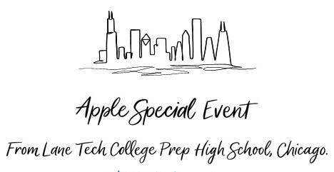 Apple Lane Tech Event banner (via apple.com)