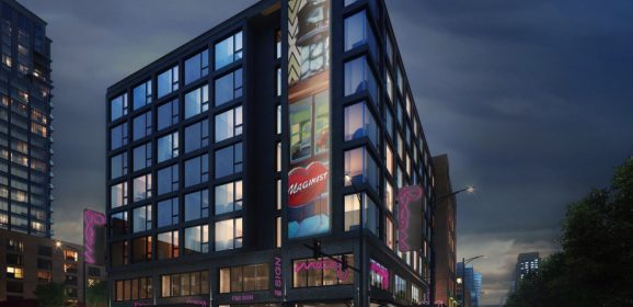 Moxy Hotel Gets Ready to Take a Bow in River North