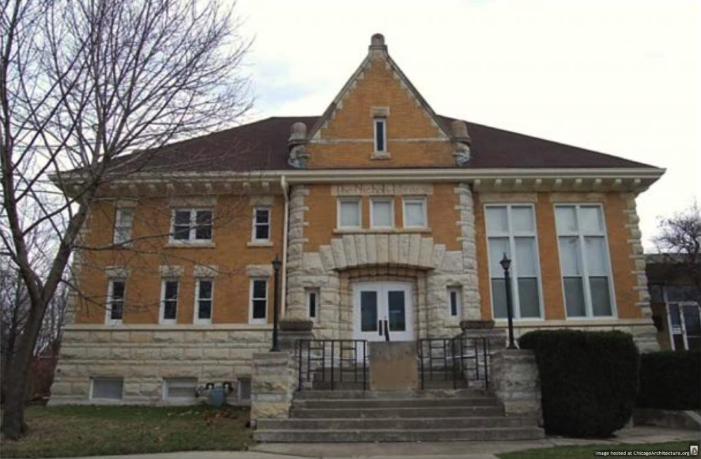 Old Nichols Library (Photograph: Charlie Wilkins)