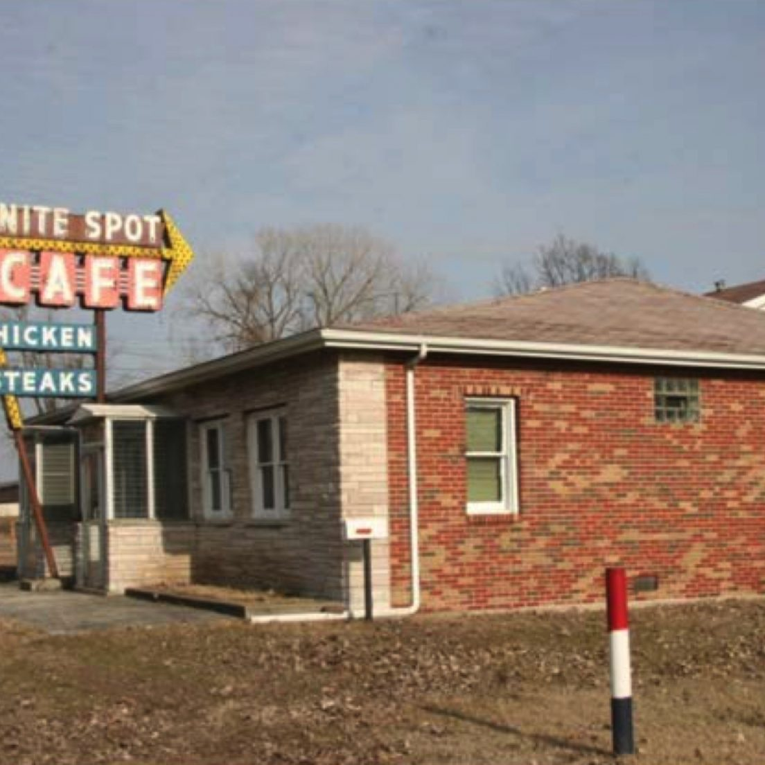 Nite Spot Cafe (Photograph: Illinois Route 66 Scenic Byway)