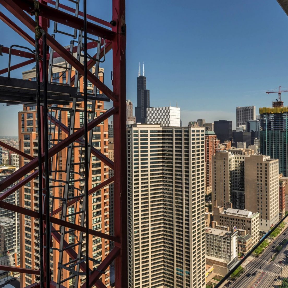 NEMA Chicago under construction (Courtesy of Joe Zekas/YoChicago!)