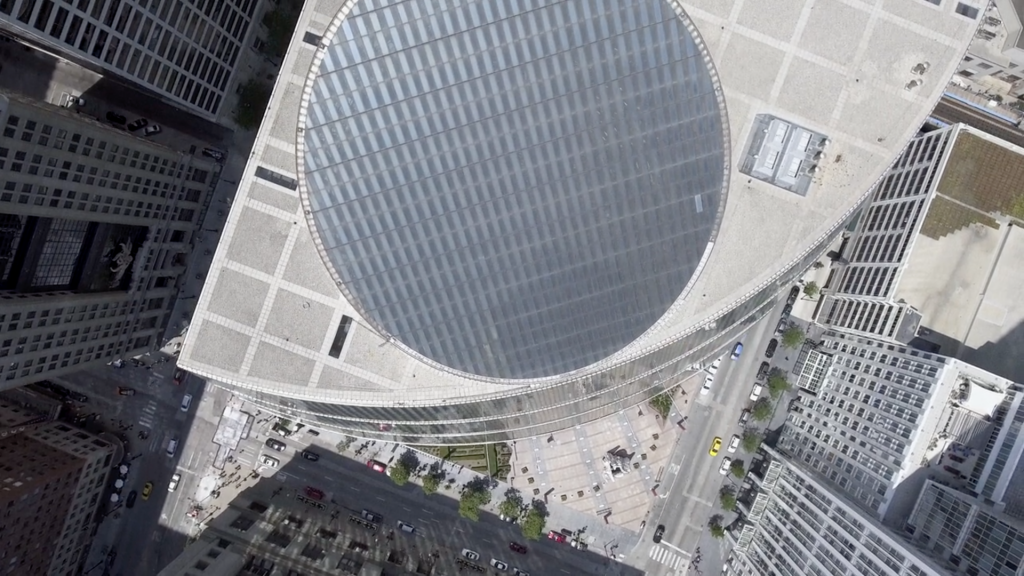 Still frame from Starship Chicago: A Film by Nathan Eddy