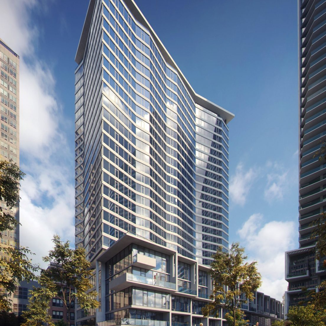Rendering of The Cooper (Courtesy of Lendlease)