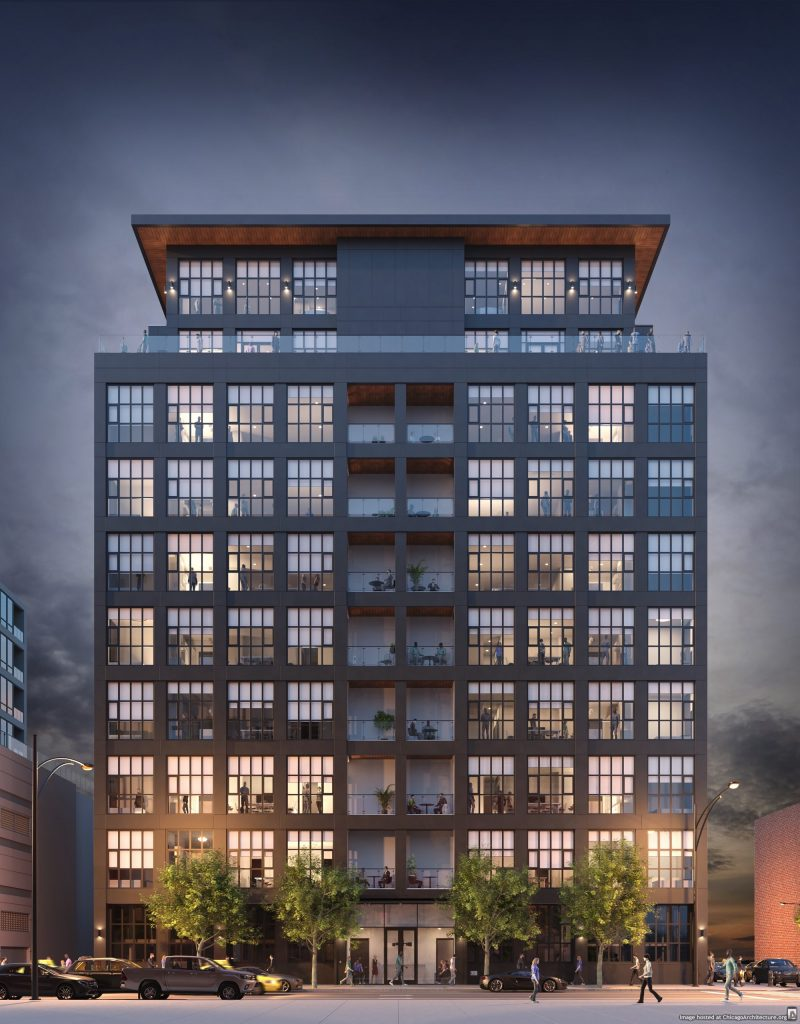 Rendering of 900 West Washington