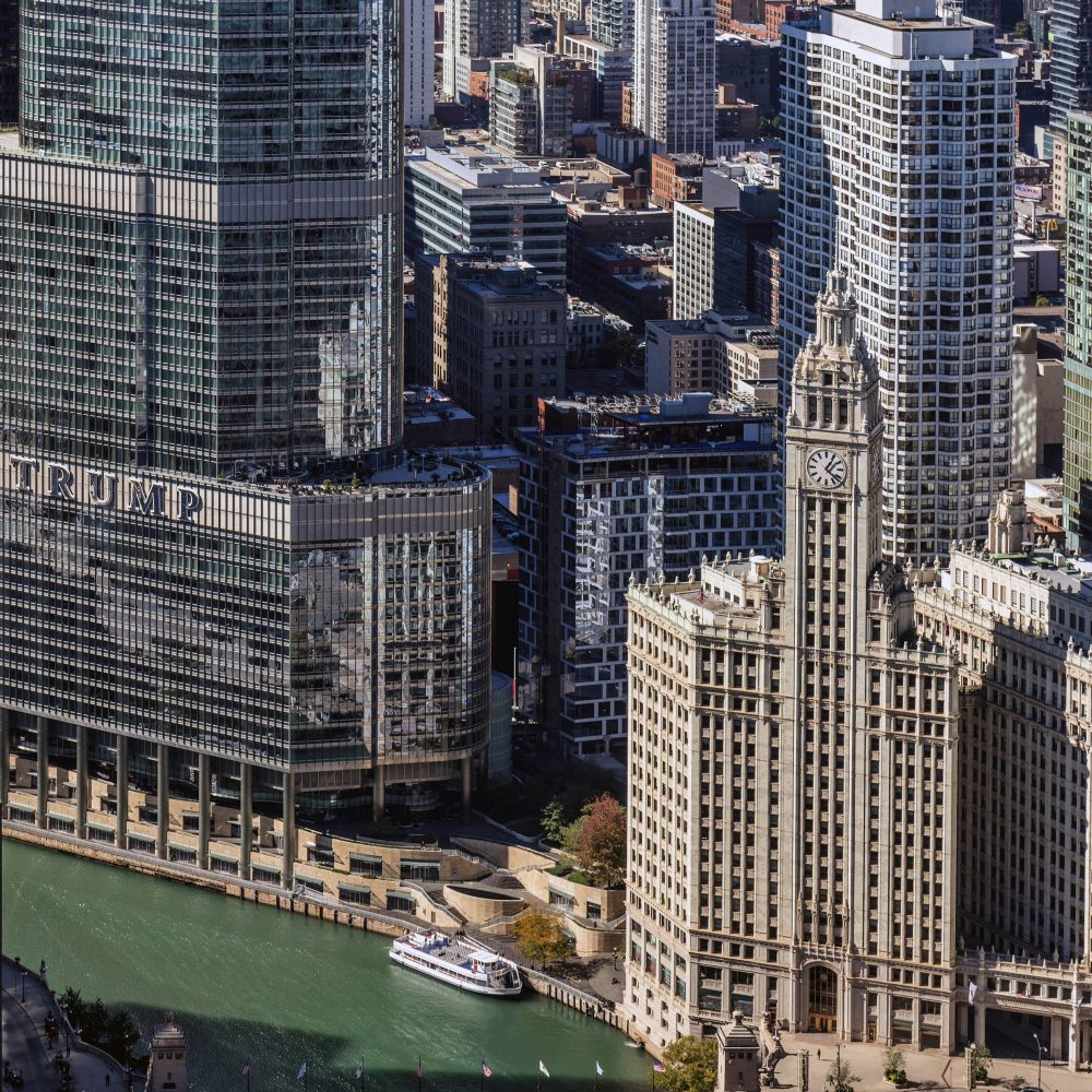 View from The Vista Tower (Courtesy of Joe Zekas/YoChicago!)