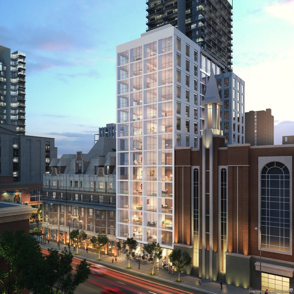 Rendering of 810 North Clark