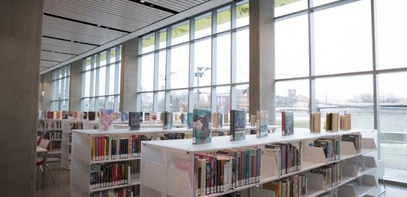 New Irving Park Library Is Books on the Bottom, Apartments on Top