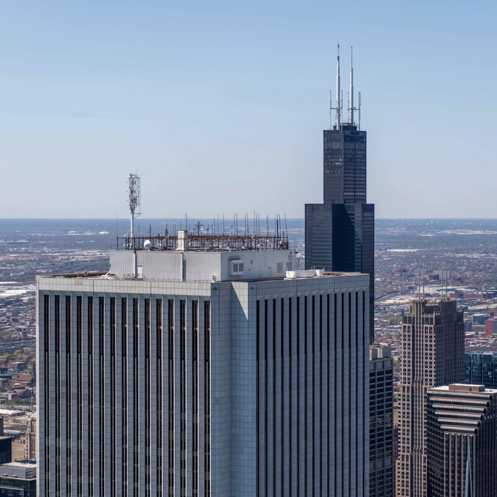 View from Vista Tower (Courtesy of Joe Zekas/YoChicago!)