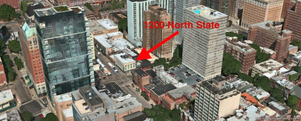 1200 North State Street (via Apple Maps)