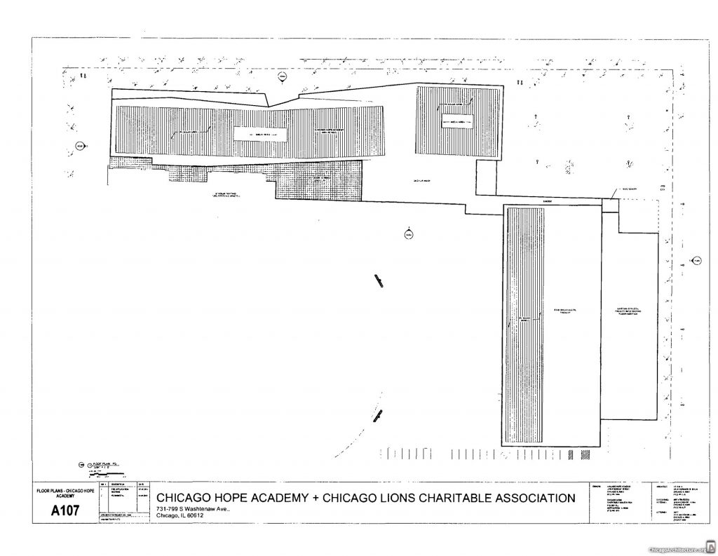 September 2019 diagram of Chicago Hope Academy