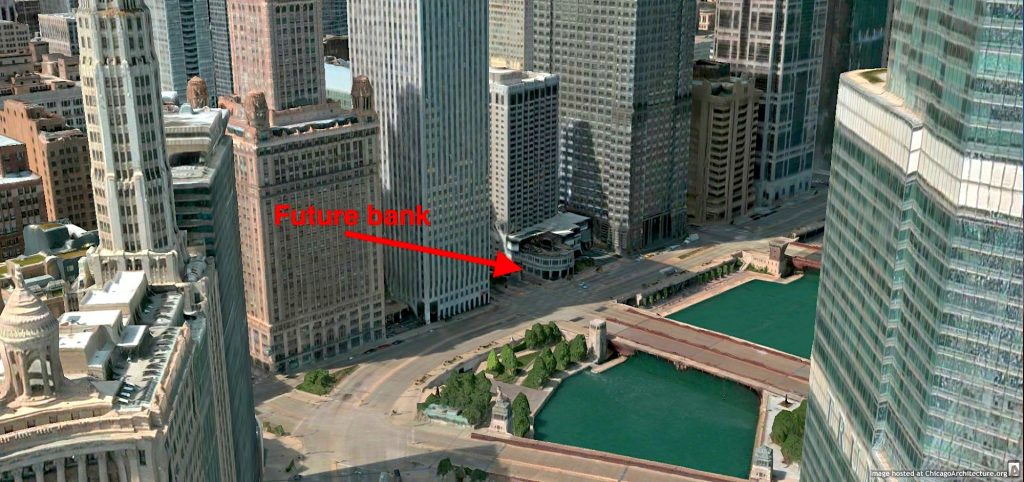 1 West Wacker Drive (via Apple Maps)