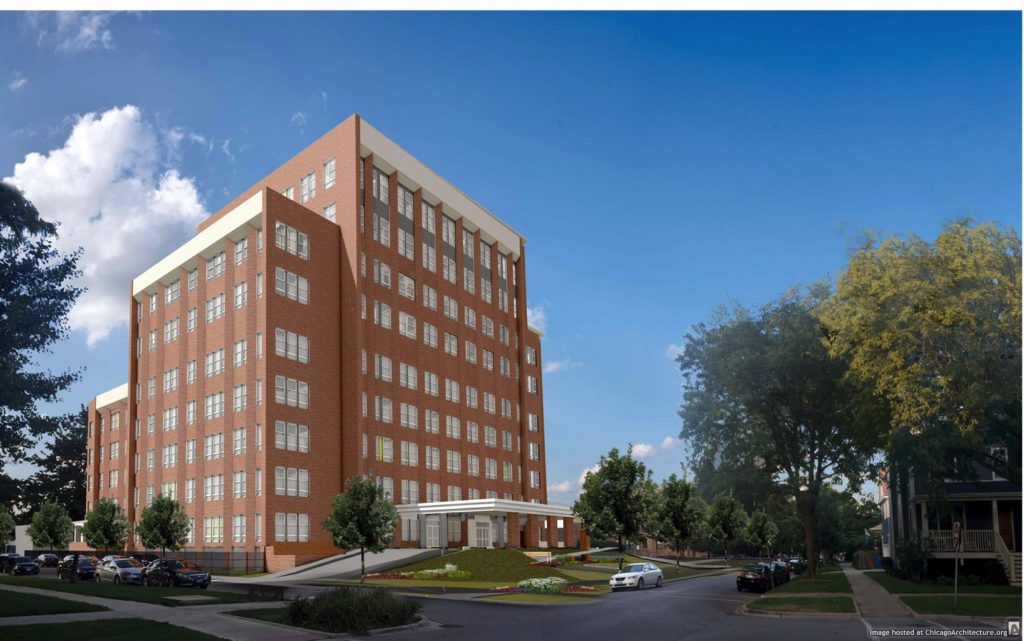 January 2020 rendering of Ravenswood Senior Living (Courtesy of Evergreen Real Estate Group)