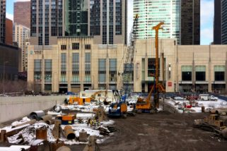 Wayback Wednesday: Digging Streeterville