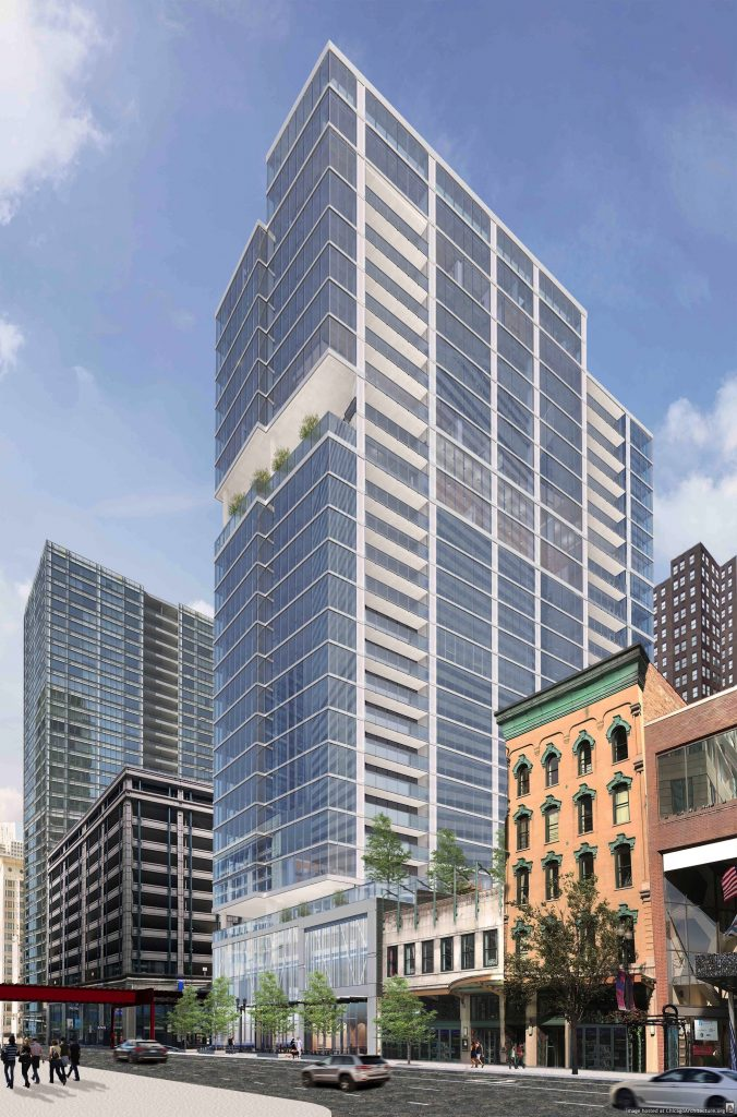 New Loop Residential Tower Starts Selling Condos