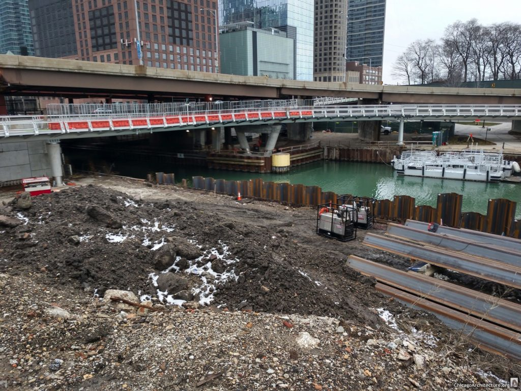 DuSable Park remediation work in January 2020