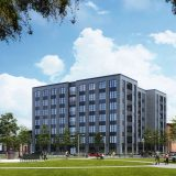 Construction Underway on New Near West Residential Block