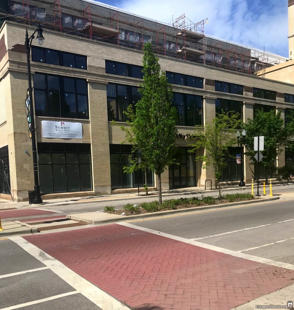 May 2020 renovation of the Sears on Lawrence. Courtesy of Ravenswood Spy Joel.