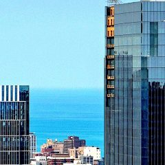 While You Were Away: 110 North Wacker Construction Continues