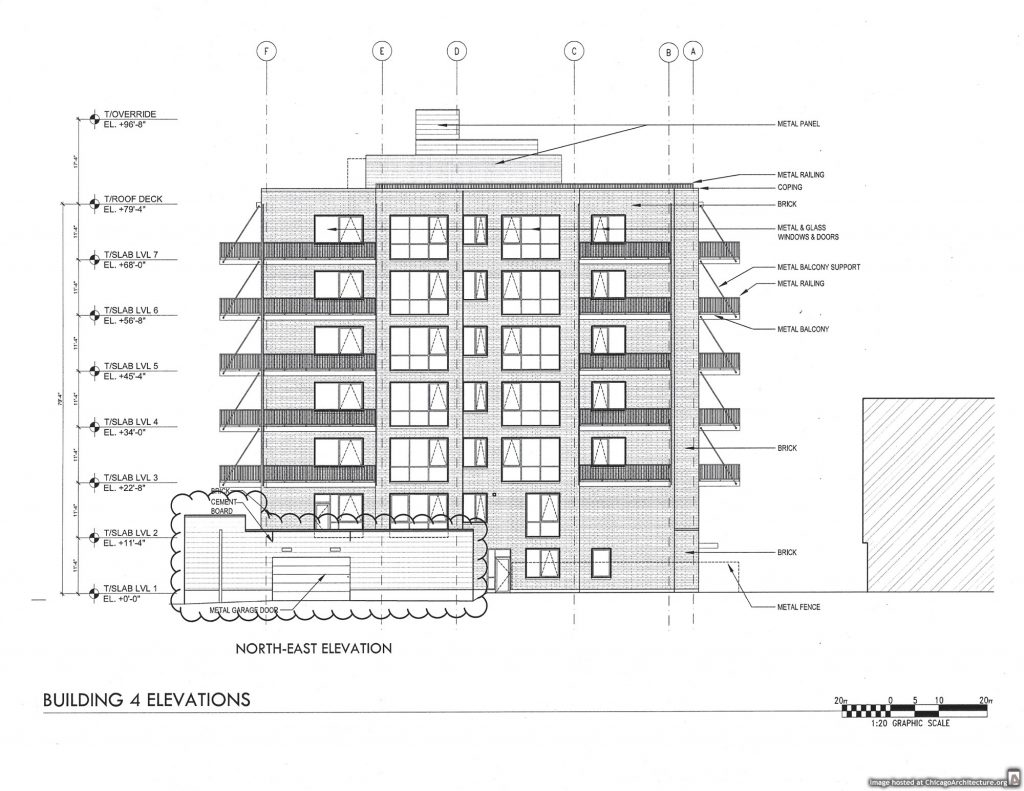May 2020 diagram of Alcove Wicker Park