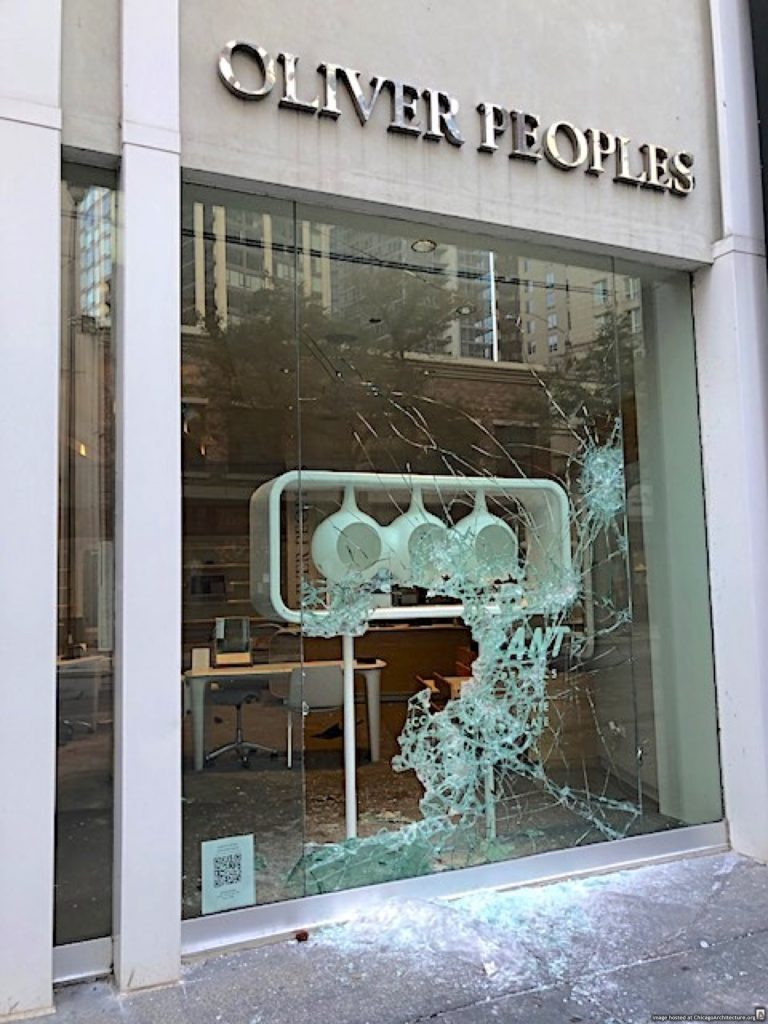 Downtown Chicago looting, August 10, 2020