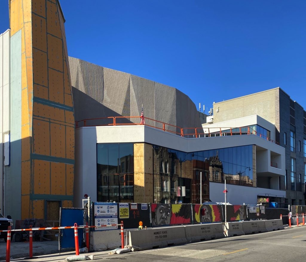 Steppenwolf Theatre expansion (Courtesy of Ranch Triangle Spy Joel)