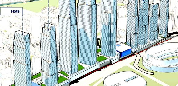 Nine New Skyscrapers, Transit Hub Planned for Chicago's South Loop