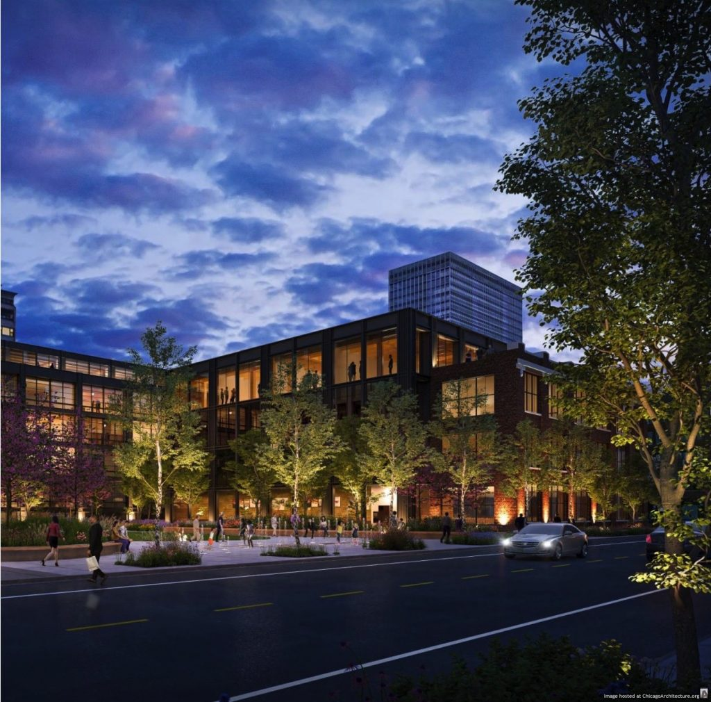May, 2021 rendering of 871 North Franklin Street.