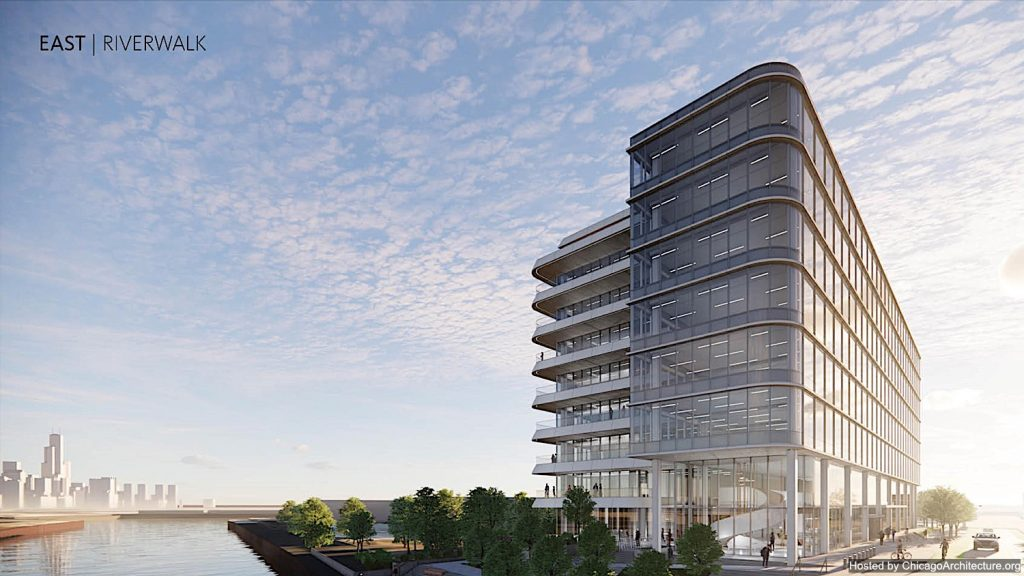 April, 2021 rendering of 1201 West Concord.